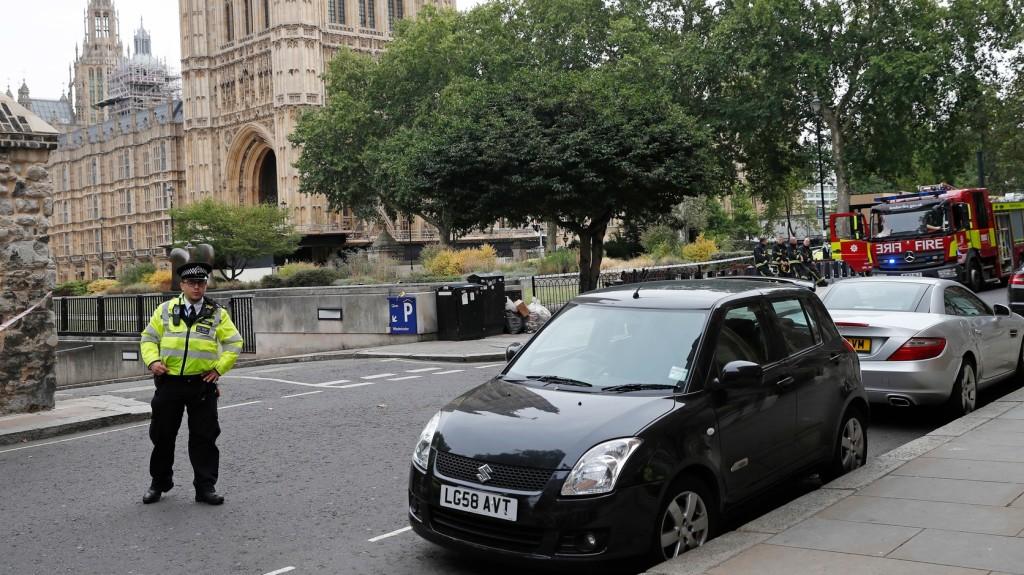 Videón a londoni autós támadás