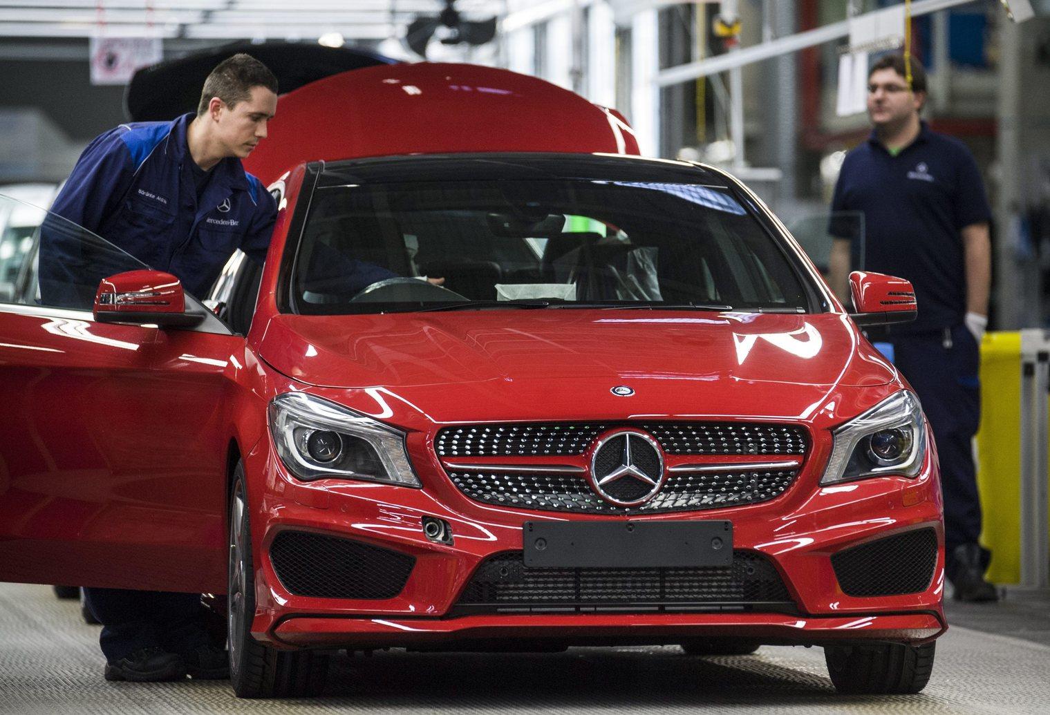 Mercedes - gyár - autó - ipar