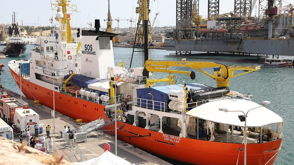 Megtagadták az Aquarius kikötését a francia hatóságok