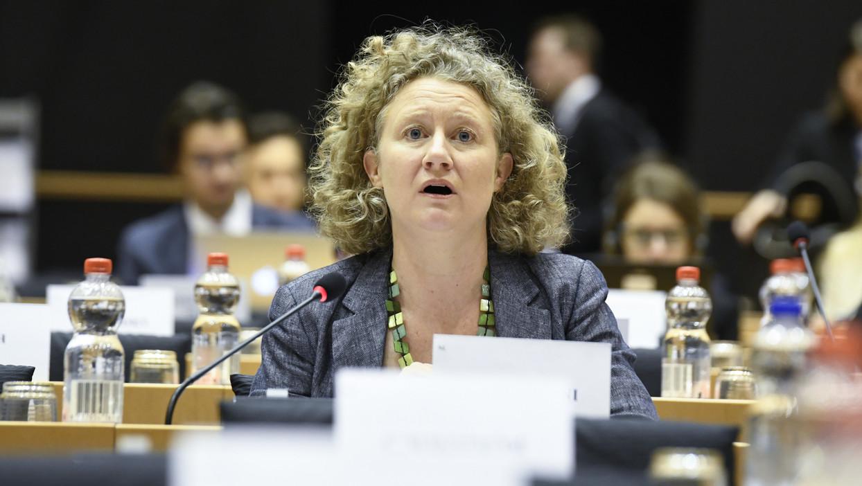 Judith Sargentini, Európa parlementi képviselő (Fotó: EP/Emilie Gomez)
