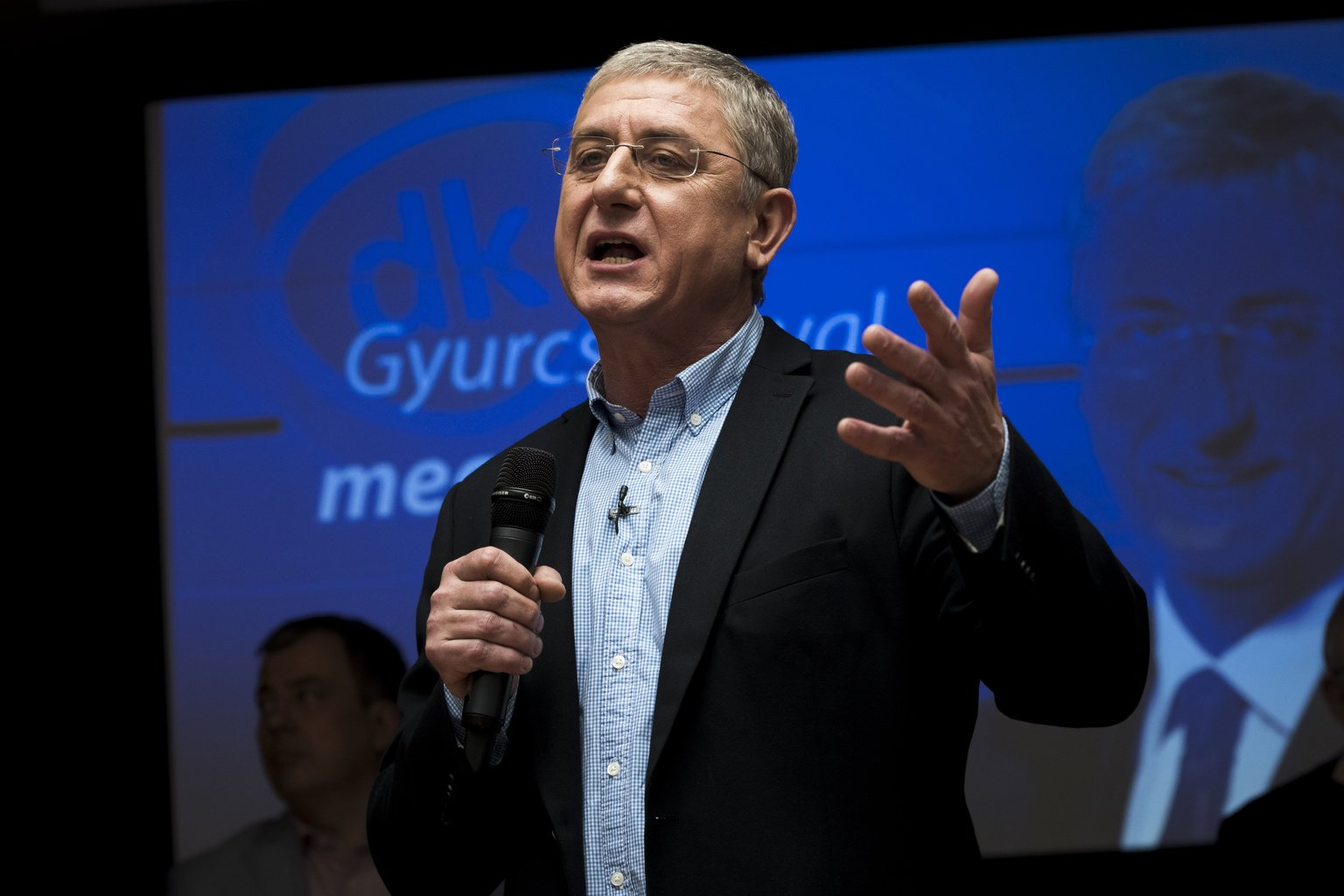 Gyurcsány Ferenc, a Demokratikus Koalíció elnöke (Fotó: MTI/Mónus Márton)