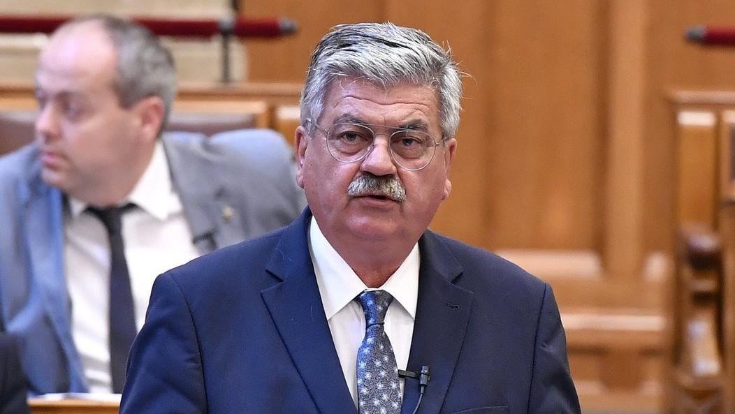 Farkas Sándor, az Agrárminisztérium parlamenti államtitkára (Fotó: MTI/Máthé Zoltán)
