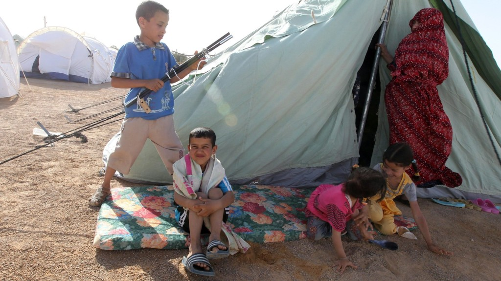 Csaknem félmillió gyermek van életveszélyben Líbiában