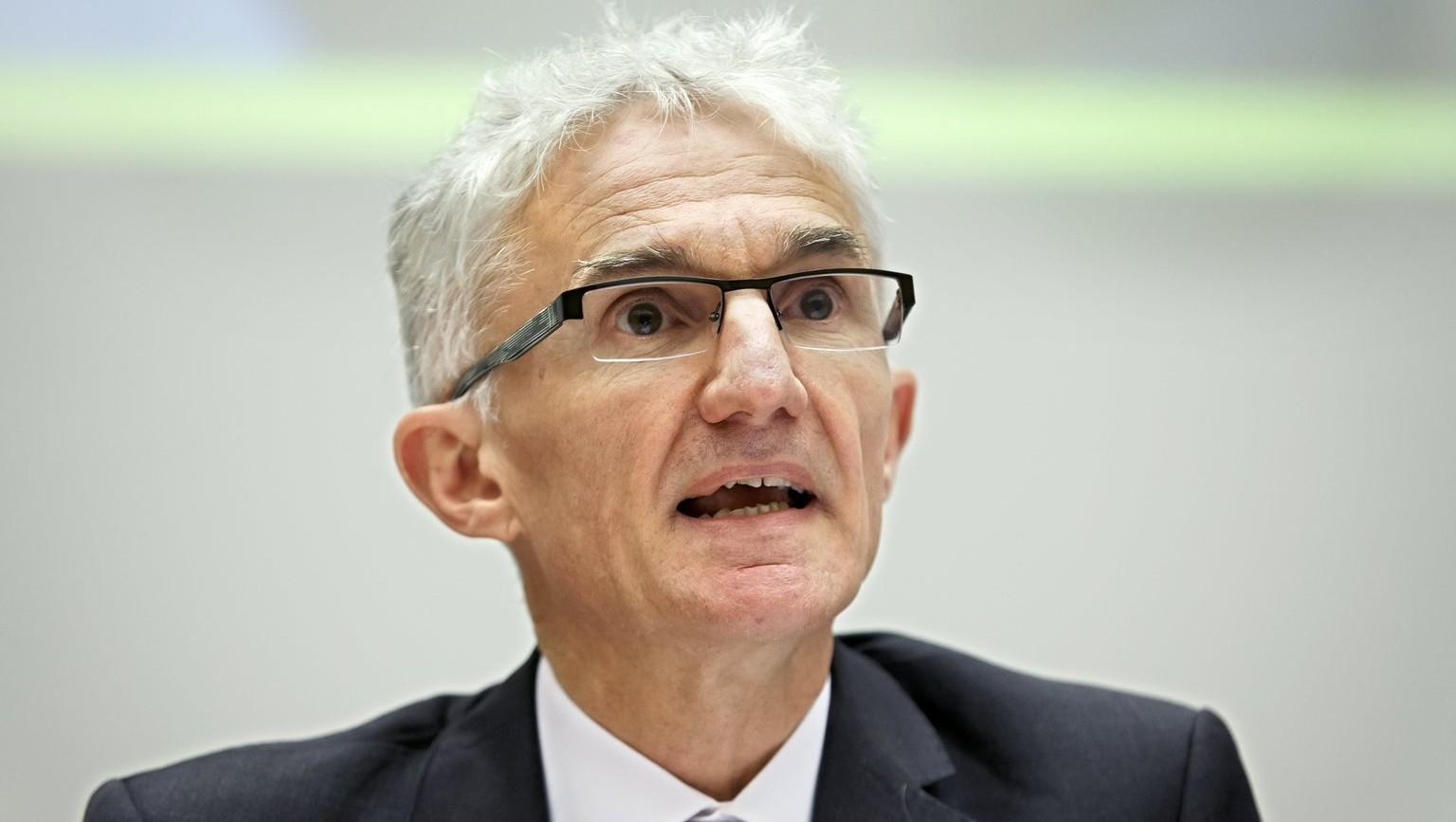 Mark Lowcock, az ENSZ humanitárius ügyekben illetékes főtitkárhelyettese (Fotó: MTI/EPA/Salvatore Di Nolfi)