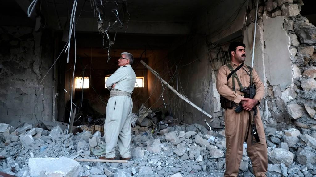 Rakéták csapódtak be az iraki a kurdisztáni Erbílben