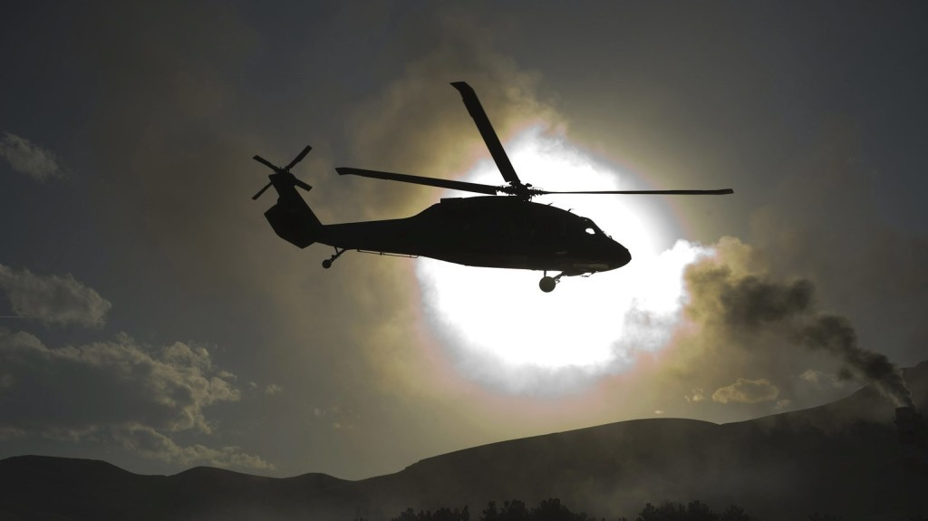 Lezuhant egy amerikai katonai helikopter Afganisztánban