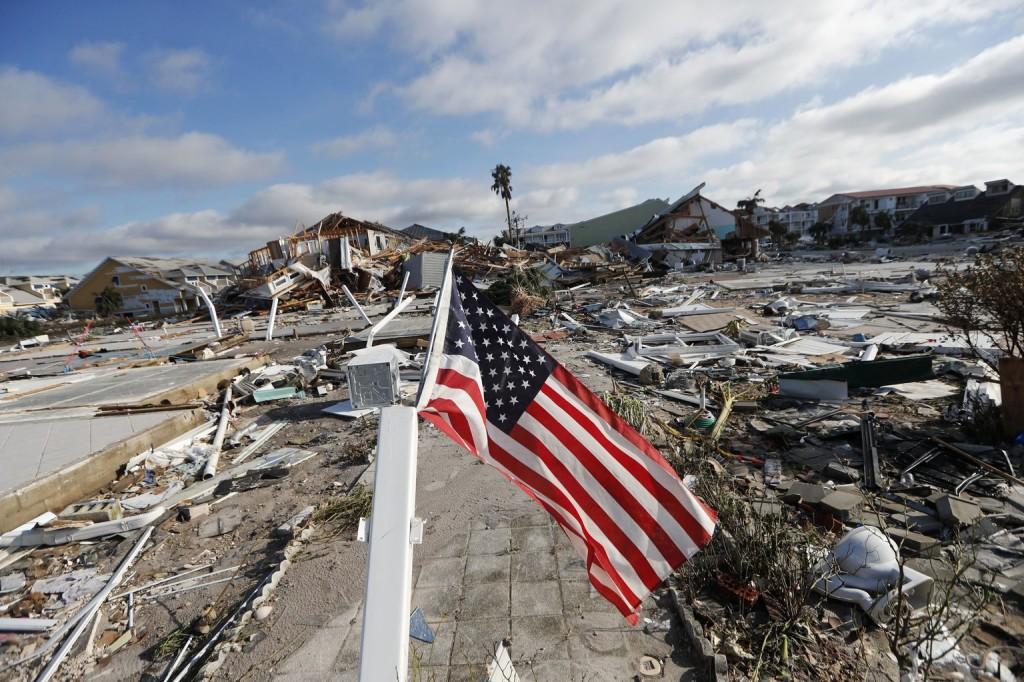 Trump megdöbbent a Michael hurrikán pusztításán