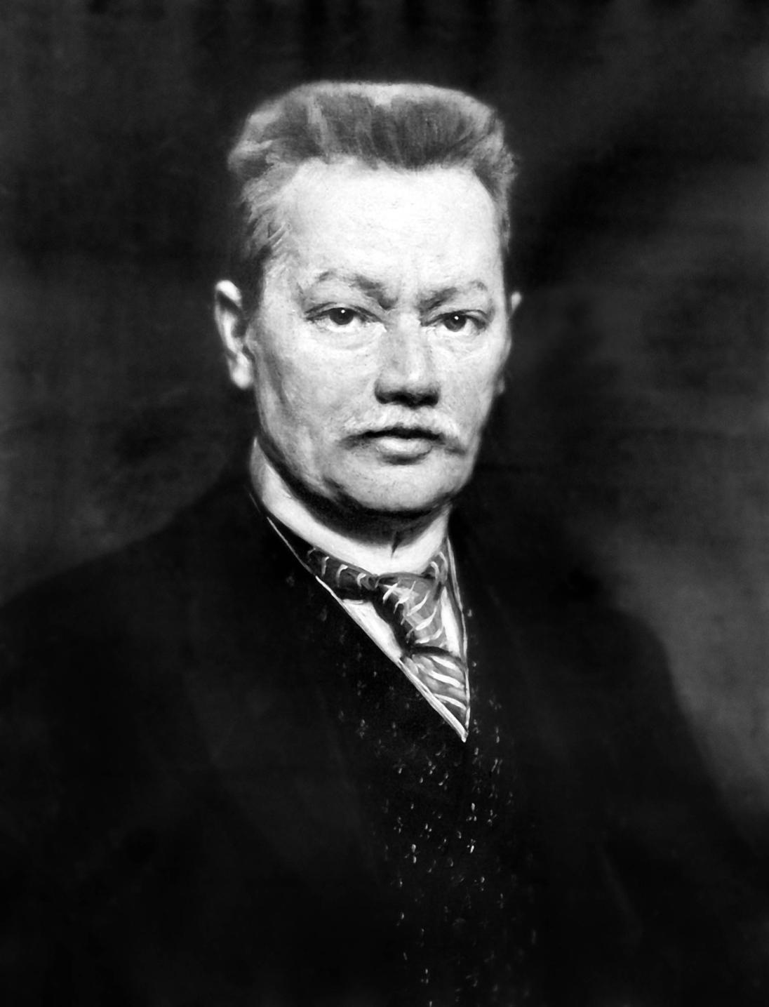1920-as évek  Báró Korányi Sándor orvos, egyetemi tanár, az MTA tagja, a modern veseélettan és vesekórtan nemzetközileg elismert szakértője, aki a fizika és kémia legújabb felfedezéseit alkalmazta a gyógyító munkában. A felvétel készítésének pontos helyszíne és dátuma ismeretlen. MTI Fotó: Reprodukció