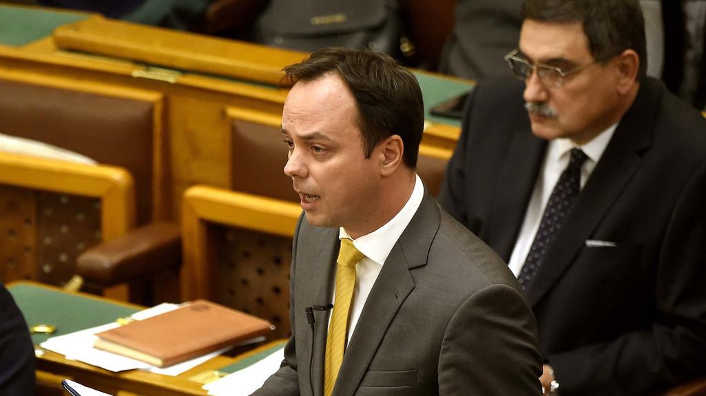 Nyitrai Zsolt fideszes képviselő (Fotó: MTI/Bruzák Noémi)