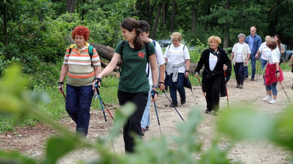 Interaktív tanösvényt avattak a Hármashatár-hegyen