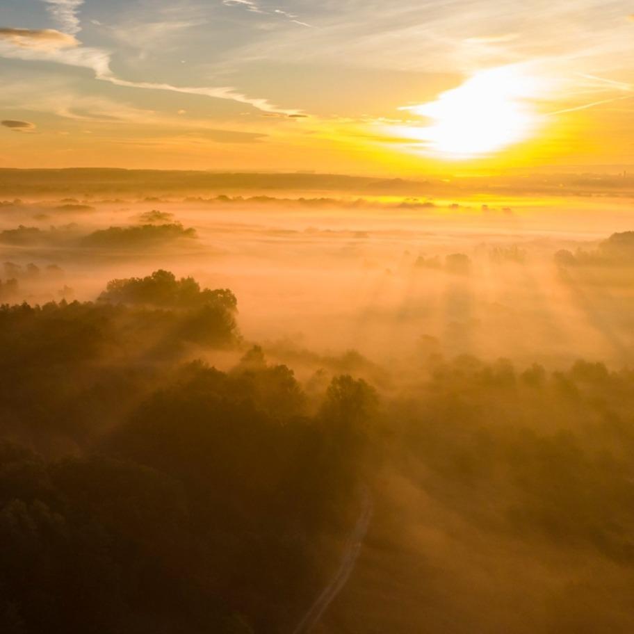 Napsütéses a hétvégénk, de ködre is számítani kell