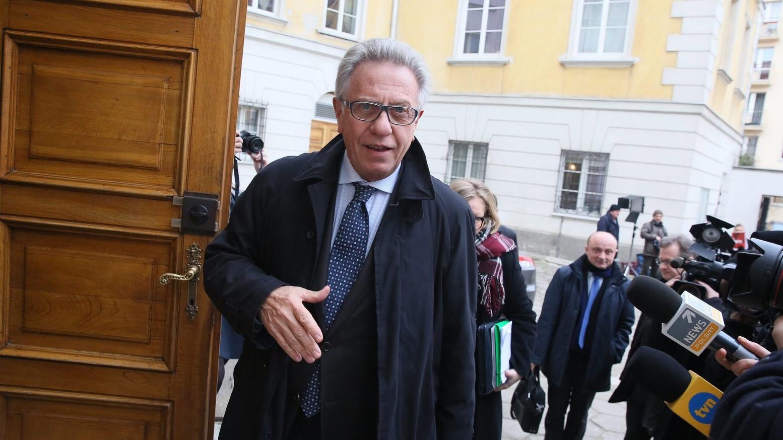 Gianni Buquicchio, az Európa Tanács alkotmányjogi kérdésekben illetékes szakértői testületének, a Velencei Bizottságnak az elnöke (Fotó: MTI/EPA/Tomasz Gzell)