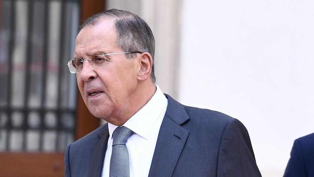 Szergej Lavrov orosz külügyminiszter (Fotó: MTI/EPA/Christian Bruna)