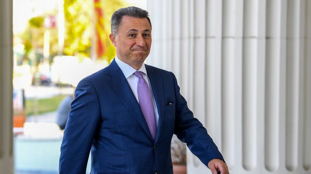 Nikola Gruevszki kiadatását kérte Macedónia