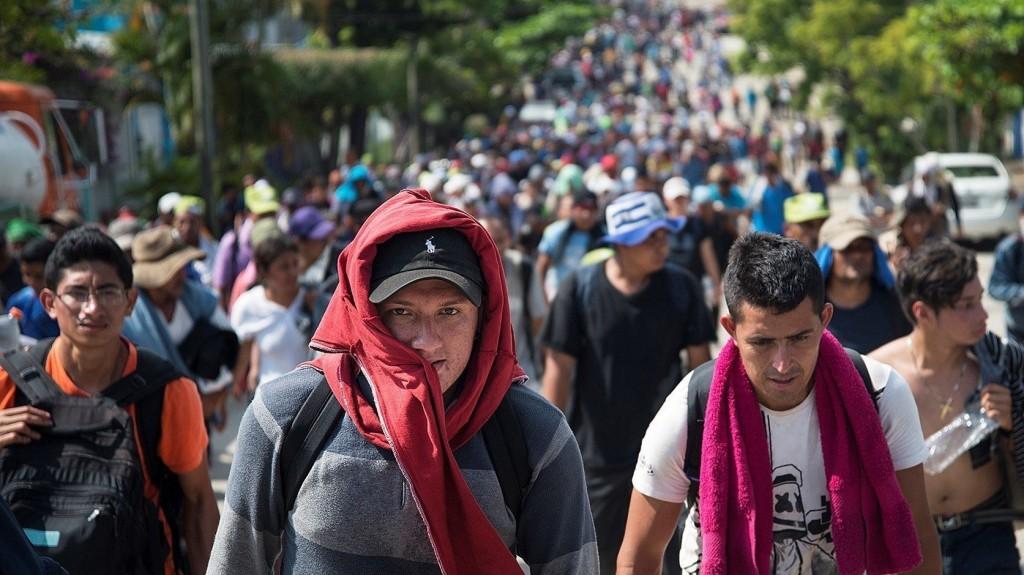 Több mint ezren kitörtek egy mexikói befogadóközpontból
