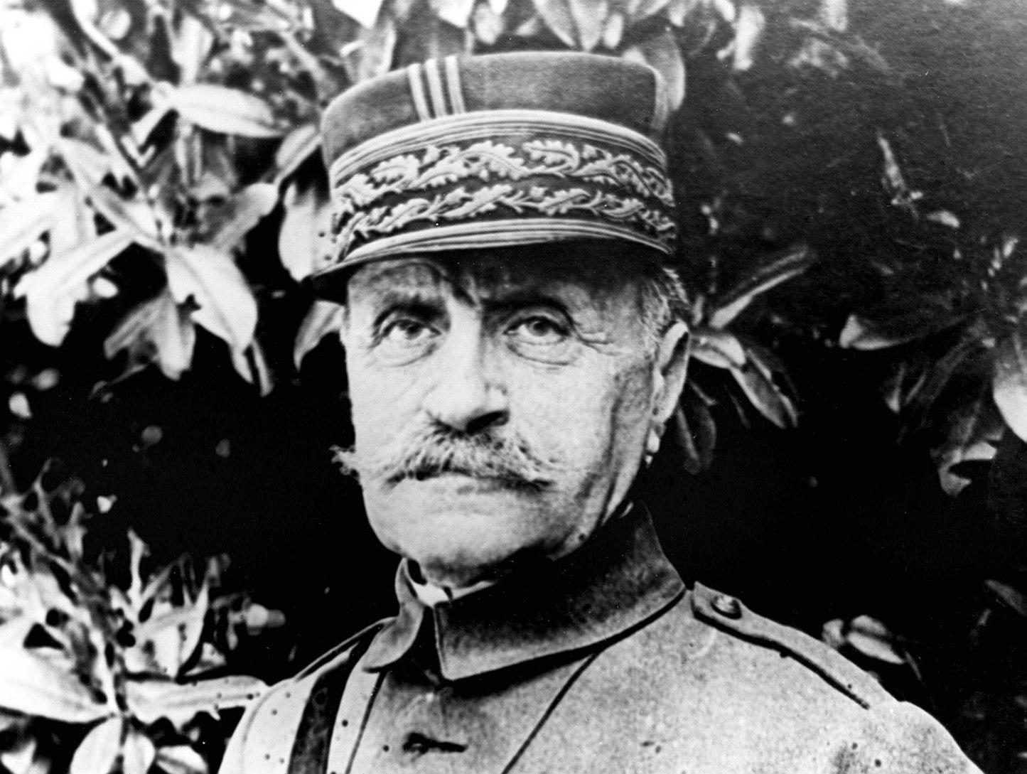 Franciaország, 1967. Ferdinand Foch francia katona, marsall, az első világháború legnagyobb francia hadvezére, 1851. október 2-án született Tarbesben. Meghalt 1929. március 20-án Párizsban.  MTI Fotó/CP
