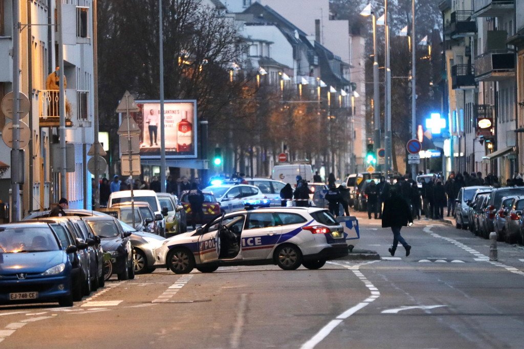 Nagyszabású rendőri művelet kezdődött Strasbourgban