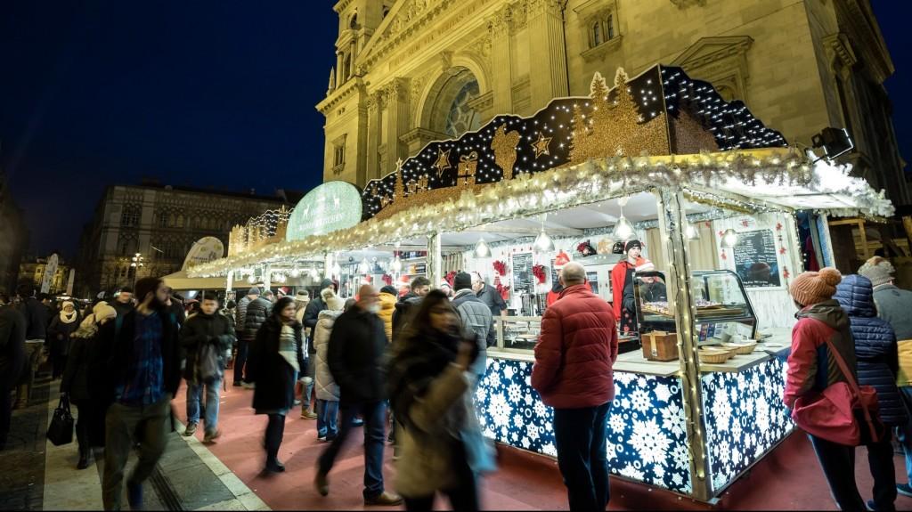 Európa második legjobb karácsonyi vására a budapesti