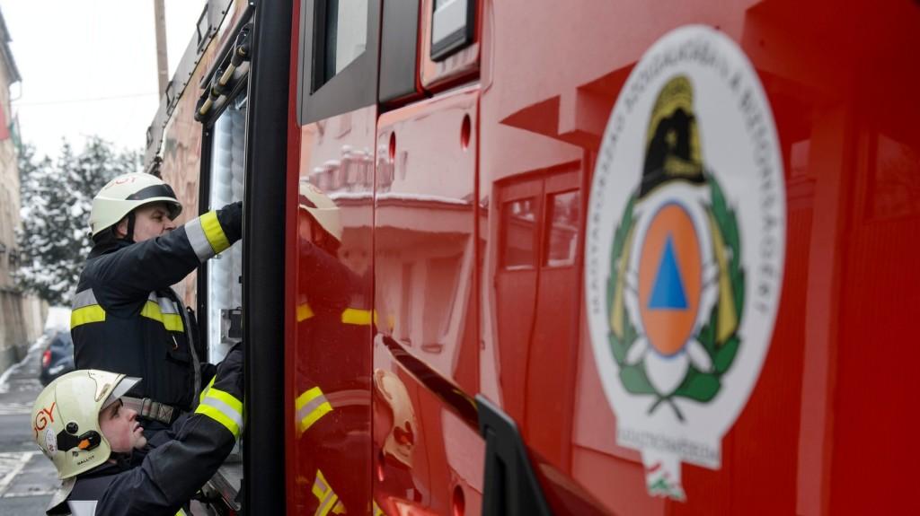 Tűz keletkezett a Csongrád Megyei Vakok Otthonában Szegeden