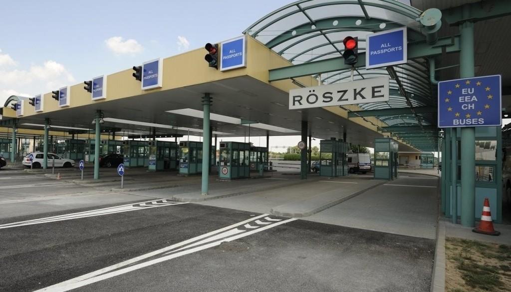 Csak a Magyarországra belépők használhatják a röszkei közúti határátkelőt vasárnap