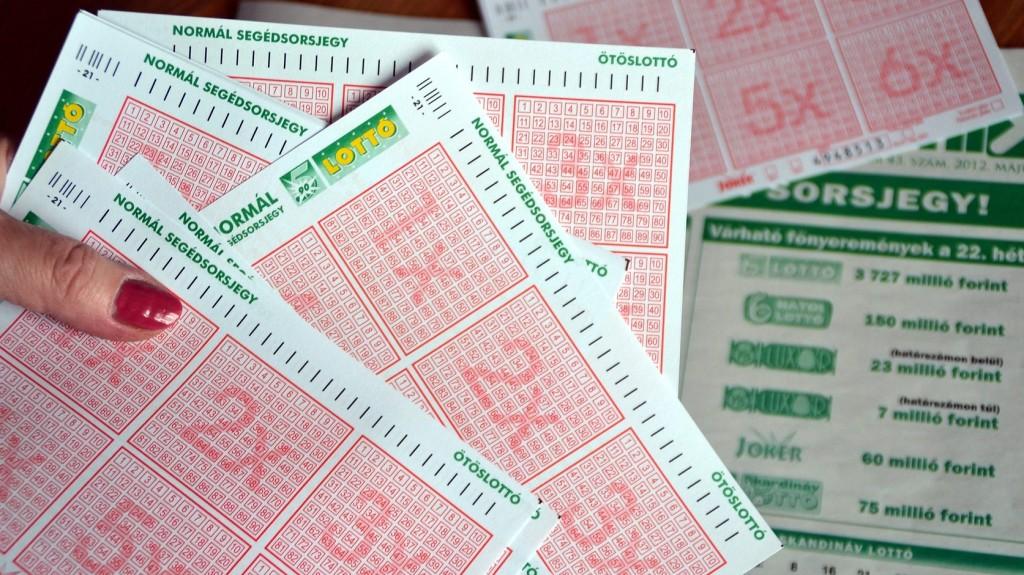 Ezek az ötös lottó heti nyerőszámai