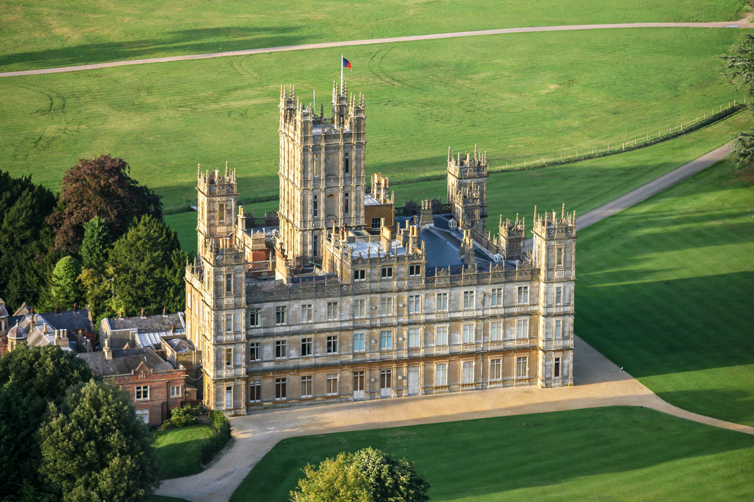 Highclere Castle (Fotó: Getty Images)