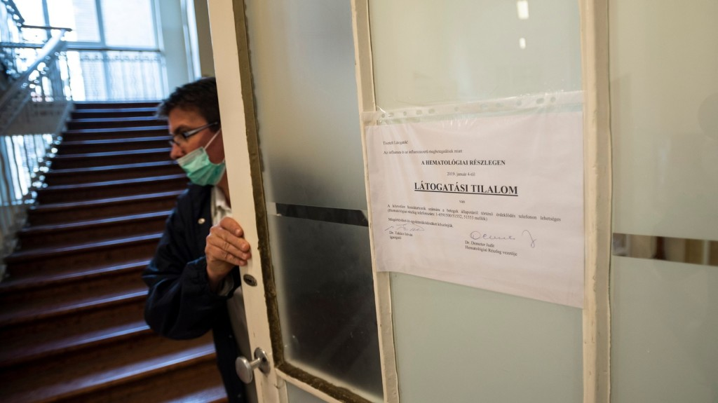 Intenzíven terjed az influenza