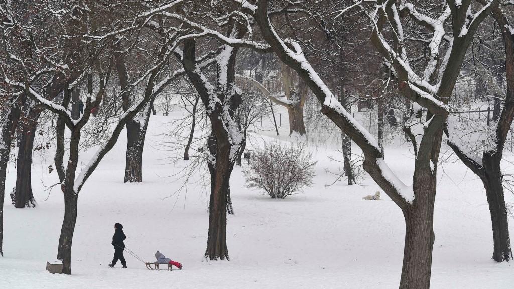 Újabb havazás várható: mutatjuk, hol eshet a legtöbb hó