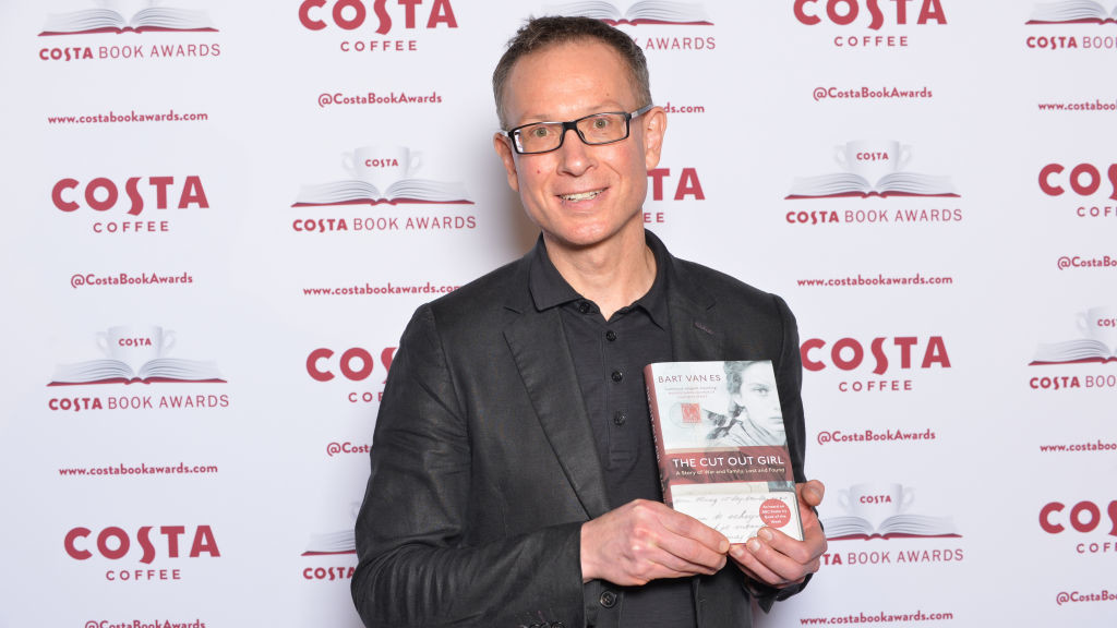 LONDON, UNITED KINGDOM - JANUARY 29:                                                   WORLD RIGHTS                                                  Category winning author Bart van Es attending the 2018 Costa Book Awards, at Quaglino's, London.                                                  (Fotó: Richard Kendal / Barcroft Images / Barcroft MediaGetty/Images)