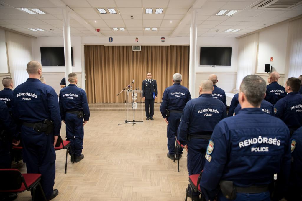 Továbbra is magyar rendőrök segítik Észak-Macedónia és Szerbia határőrizetét