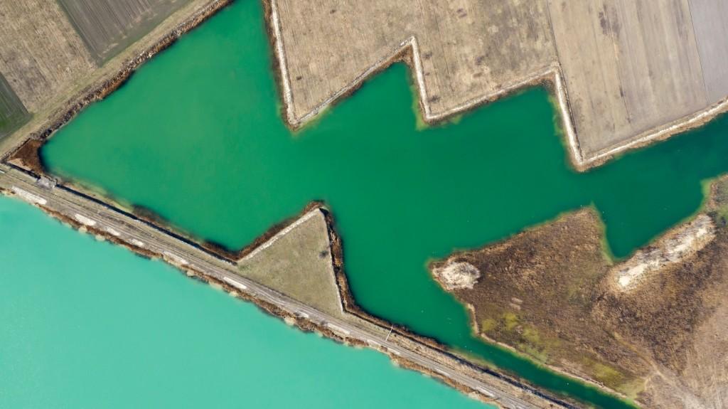 Tavak, folyók, torkolatok - Gyönyörű légi felvételek Magyarországról
