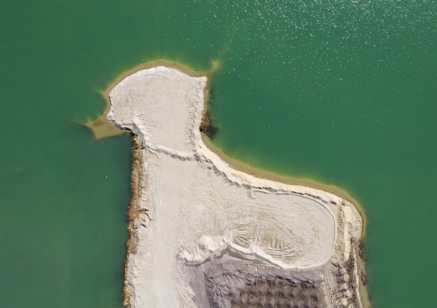 Délegyháza, 2019. március 22. Bányató Délegyháza közelében 2019. március 17-én. Az ENSZ március 22-ét nyilvánította a víz világnapjává, amelynek célja a környezet és ezen belül a Föld vízkészletének védelme. MTI/Mohai Balázs