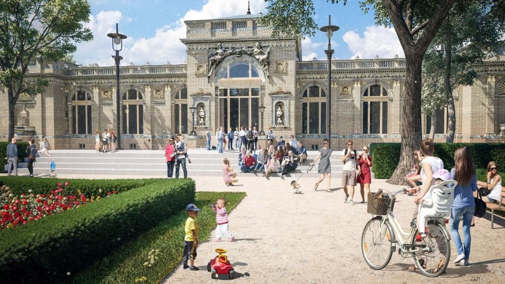 Rövidesen elkészül az Olof Palme Ház rekonstrukciója
