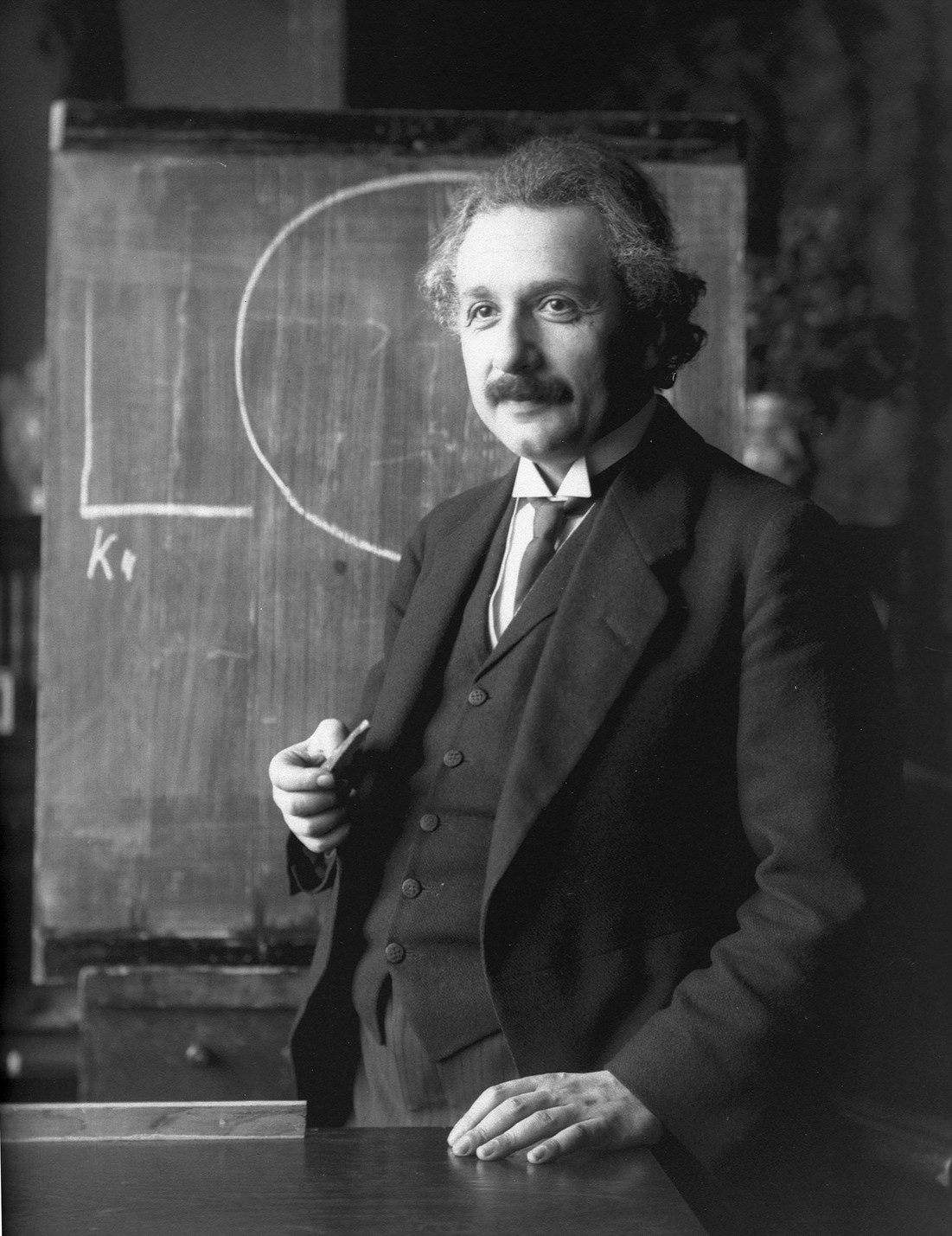 Albert Einstein 1921-ben (Fotó: Photo12/UIG/Getty Images)