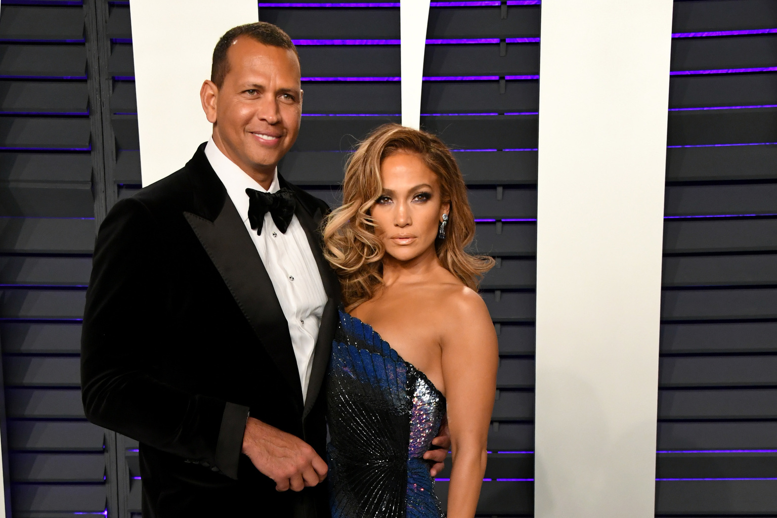 Alex Rodriguez és Jennifer Lopez (Fotó: Getty Images/Jon Kopaloff)