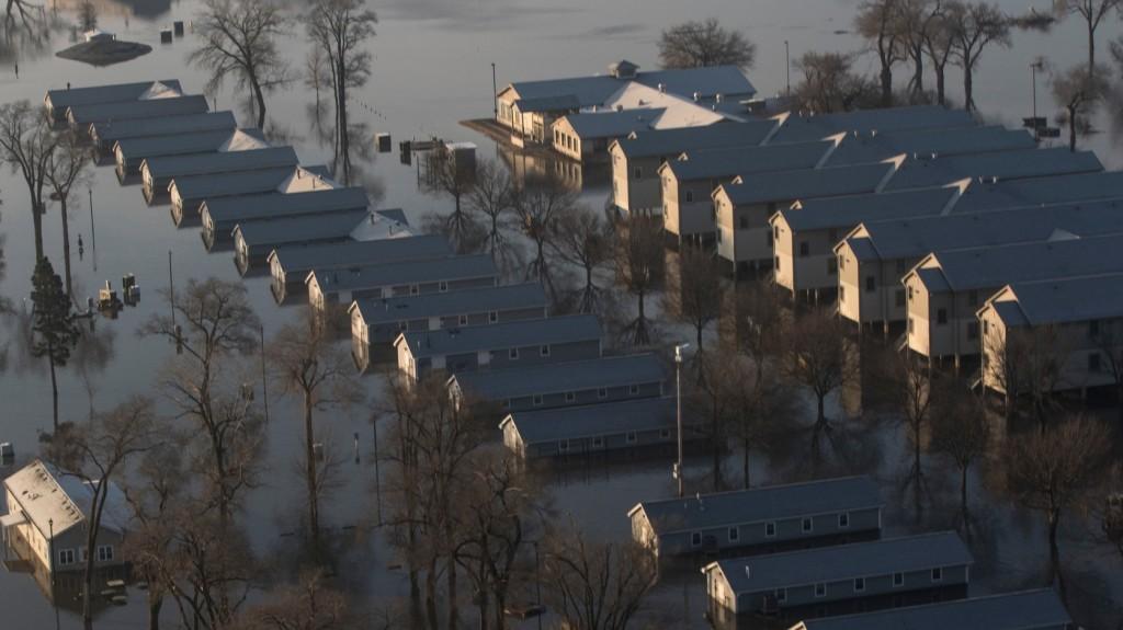 Tovább pusztít az árvíz az amerikai Nebraskában – Videó