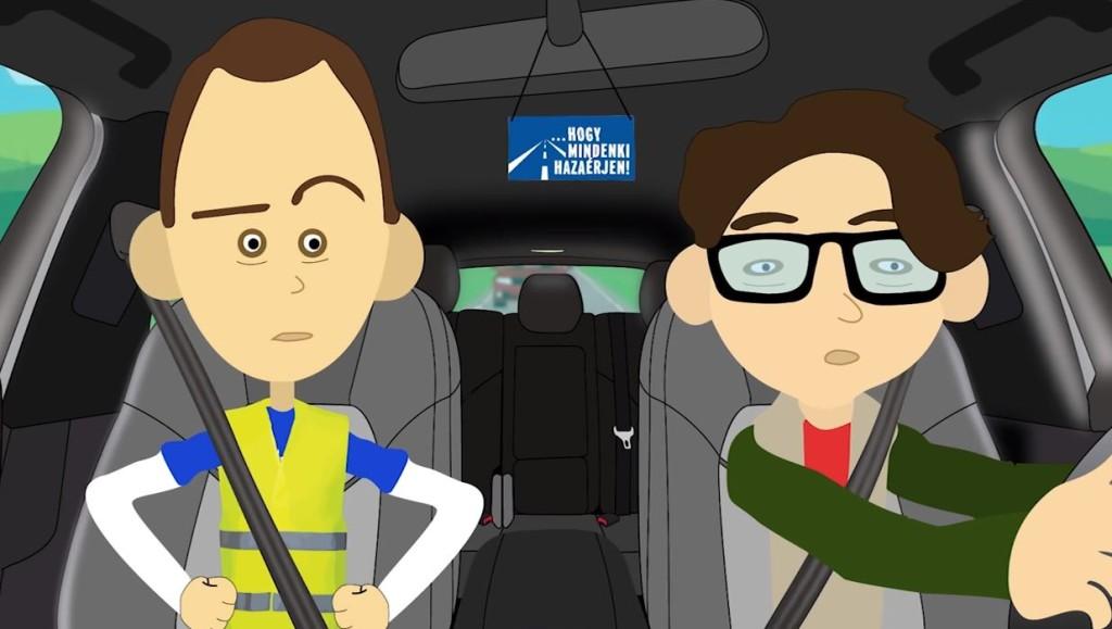 Animációs sorozatot indít a rendőrség a közlekedési balesetek megelőzésére