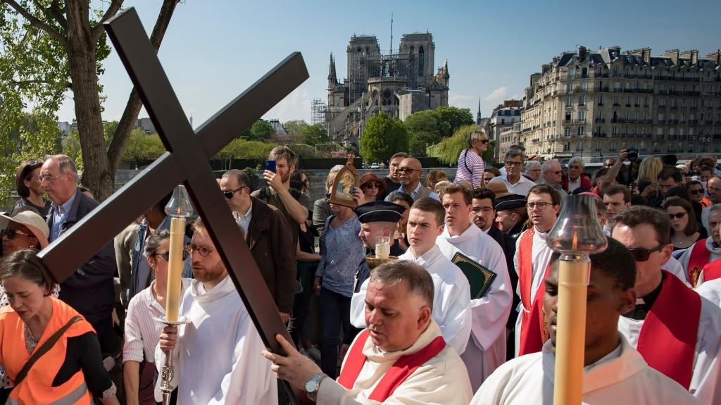 A Notre-Dame festményeit is megmentették