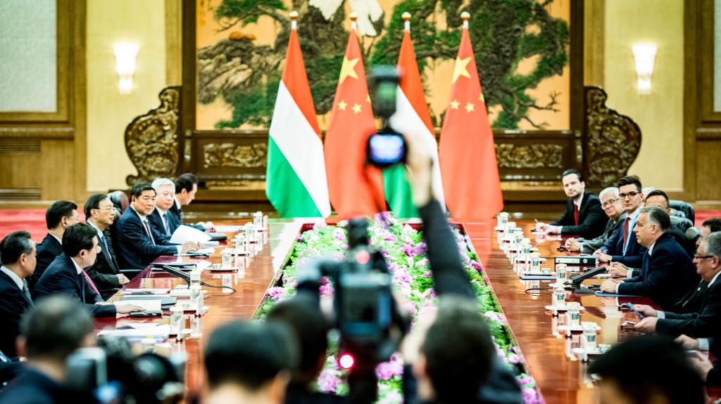Orbán Viktor: Magyarország kész az európai-kínai kapcsolatok fejlesztésére