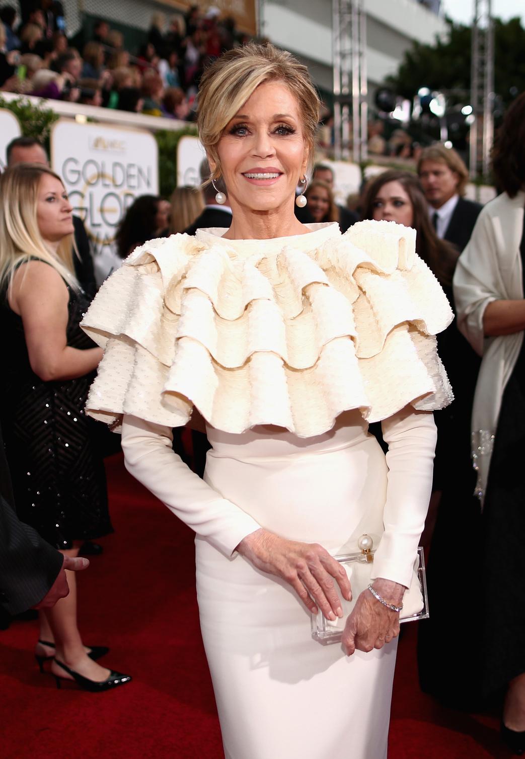 Jane Fonda (Fotó: Getty Images/Christopher Polk / NBC)