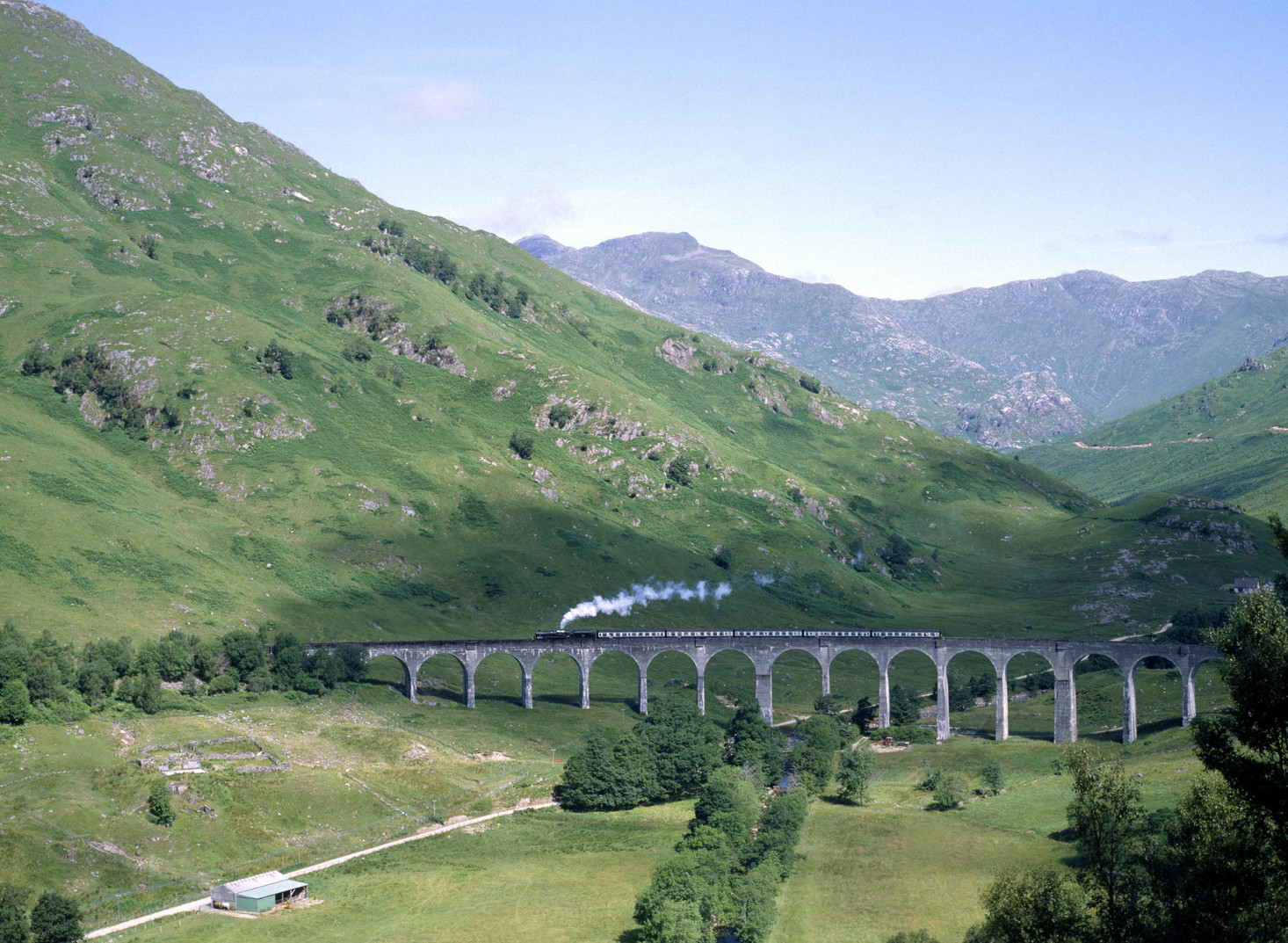 Glenfinnan Viadukt (Fotó: Getty Images/Construction Photography/Avalon)