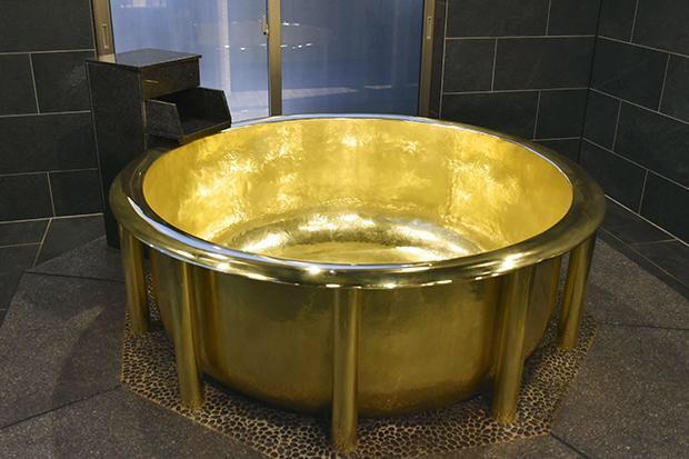 Arany fürdőkádat ismert el a Guinness Világrekordok