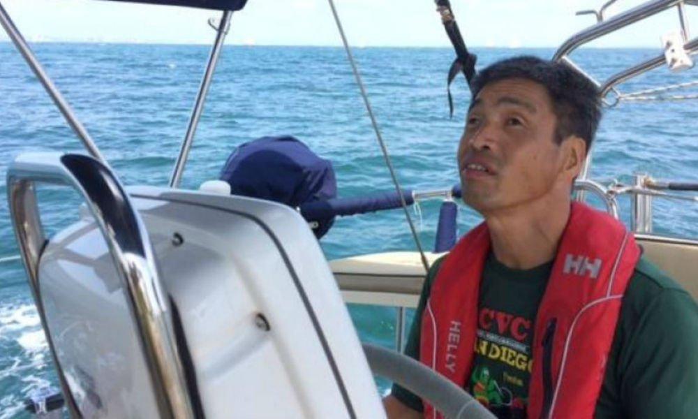Vakon hajózta át a Csendes-óceánt