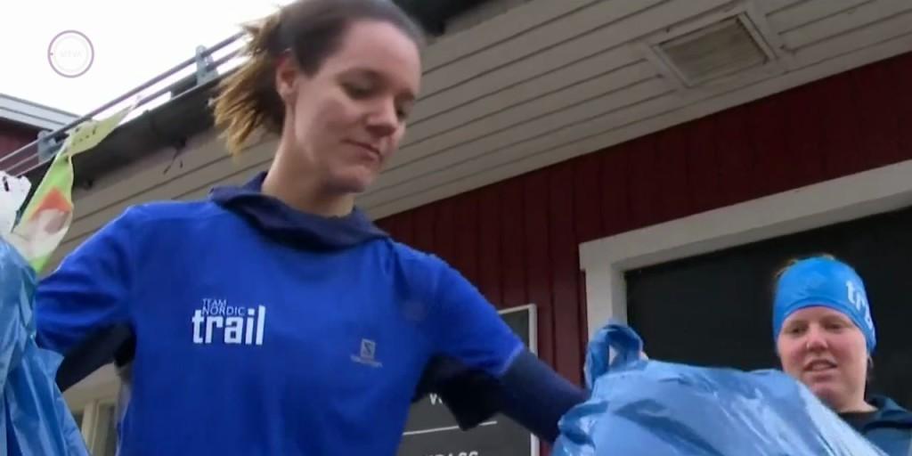 Rohamléptekkel tisztítják környezetüket a svéd futók – VIDEÓ