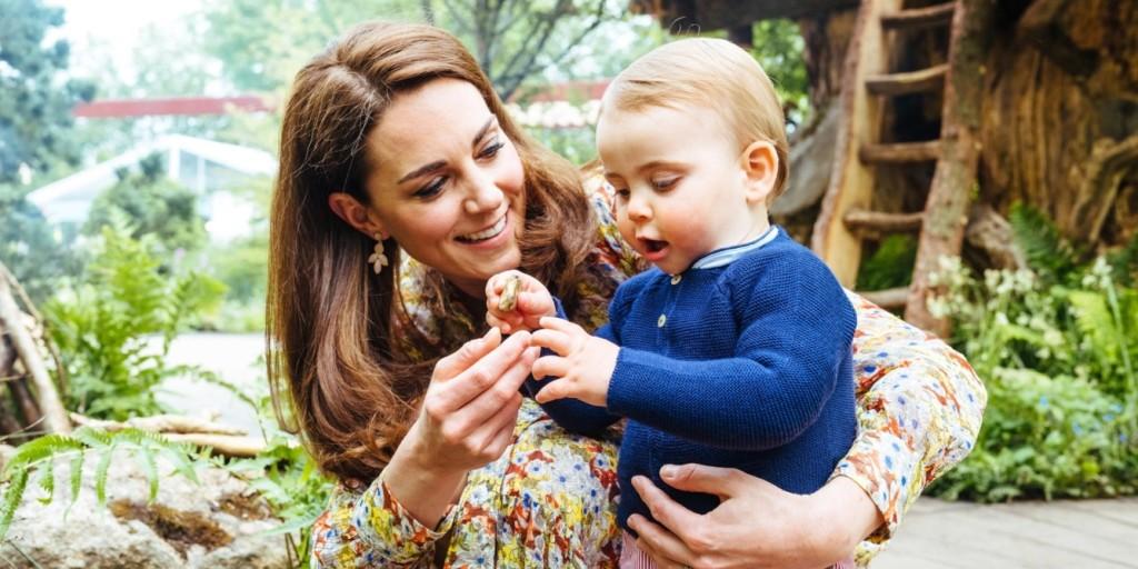 A futkározó kis Lajos hercegnél tüneményesebbet ma biztosan nem lát