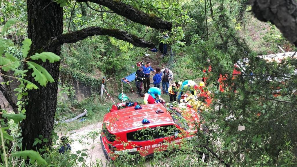 Turistabusz szenvedett balesetet Siena mellett