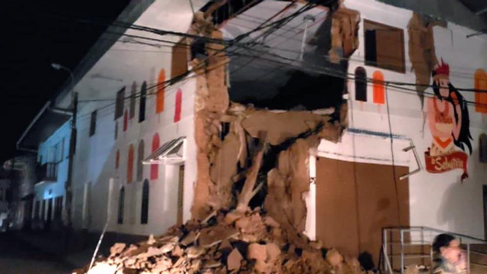 Nagyerejű földrengés volt Peruban