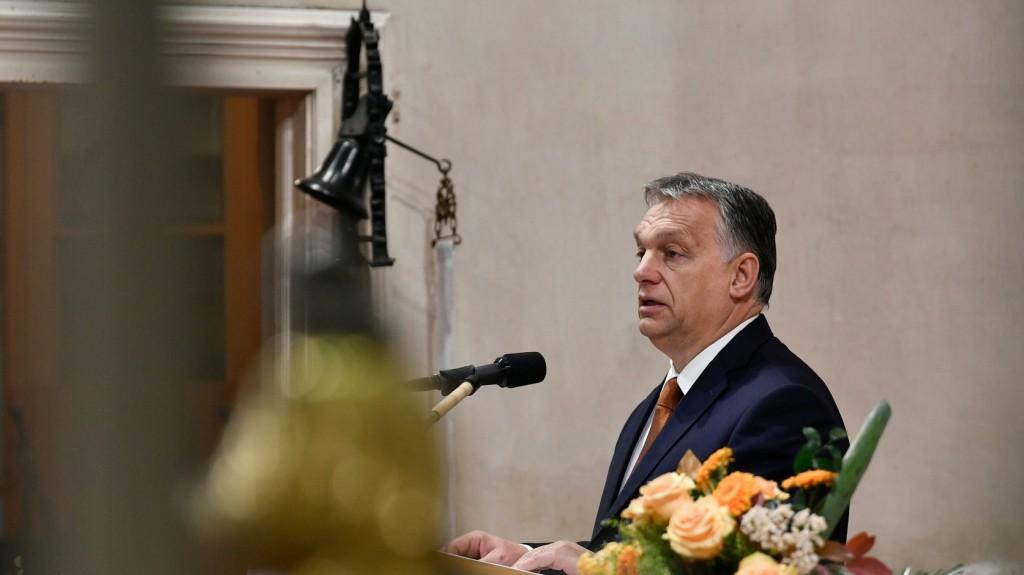 Orbán Viktor a bevált értékek melletti kiállásra szólított fel Szlovéniában