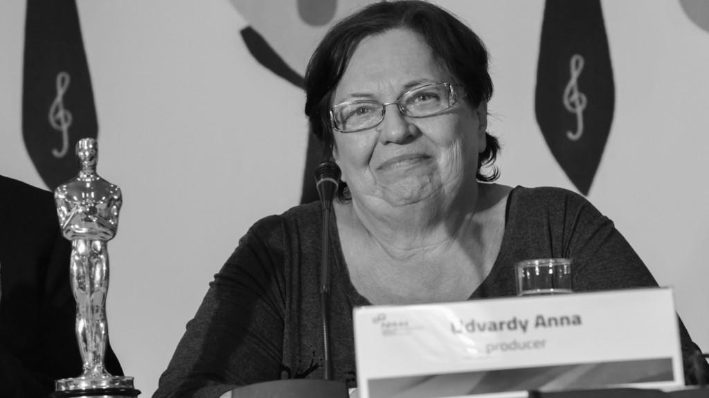 Elhunyt Udvardy Anna producer