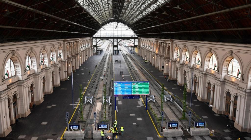 Befejeződött a Keleti pályaudvar felújítása